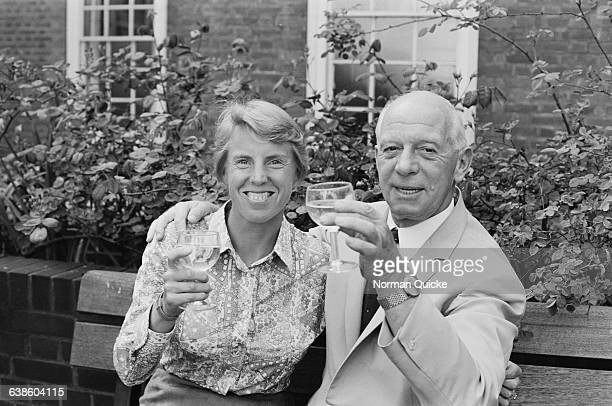 Tennis and table tennis champion Ann Haydon Jones with her husband Philip Jones 10th May 1971 The couple are expecting their first baby