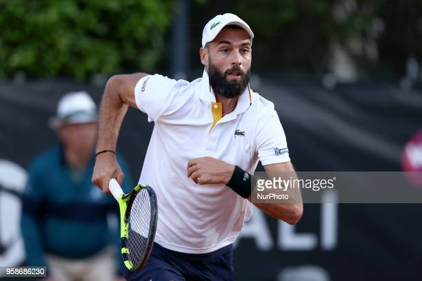 Tennis ATP Internazionali d'Italia BNL First Round Benoit Paire at Foro Italico in Rome Italy on May 14 2018
