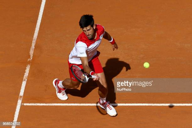 Tennis ATP Internazionali d'Italia BNL First Round Novak Djokovic at Foro Italico in Rome Italy on May 14 2018