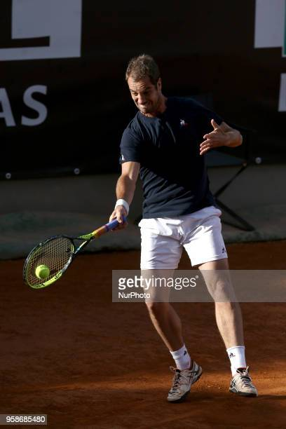 Tennis ATP Internazionali d'Italia BNL First Round Richard Gasquet at Foro Italico in Rome Italy on May 14 2018