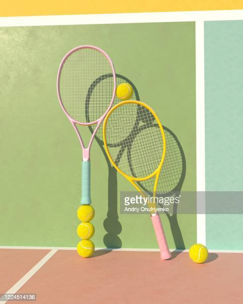tennis balance - drive ball sports stock pictures, royalty-free photos & images