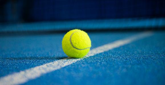 Tennis Ball 487469936