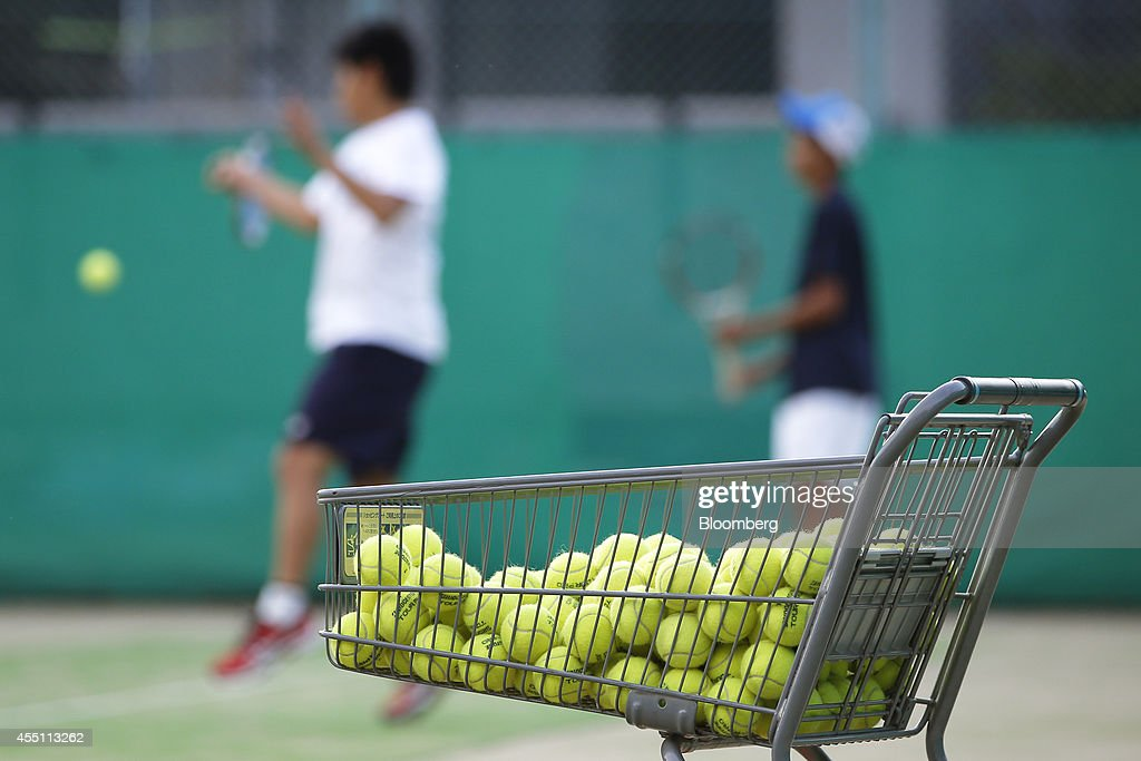 General Views Of Matsue City And Inside The Green Tennis School : ニュース写真