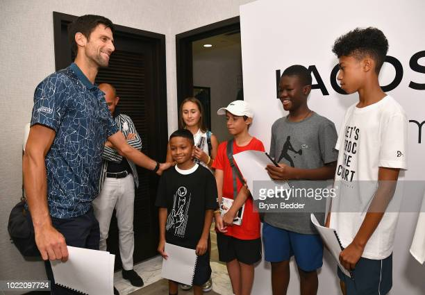 25 Celebrates Tennis Champion Novak Djokovic At Macys Photos And Premium High Res Pictures Getty Images