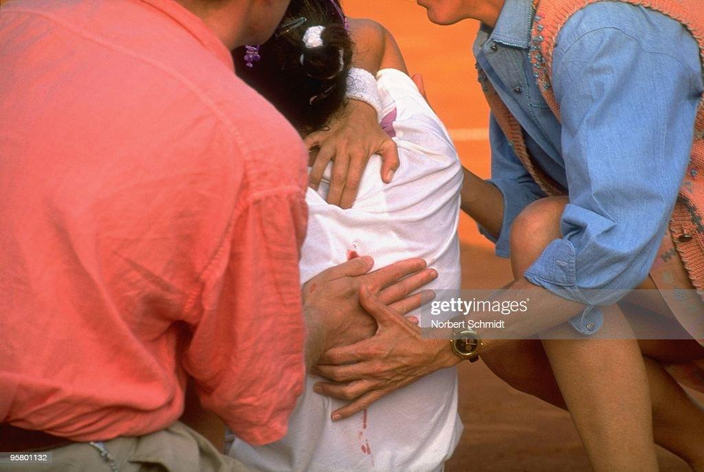 Yugoslavia Monica Seles, 1993 Citizen Cup : News Photo