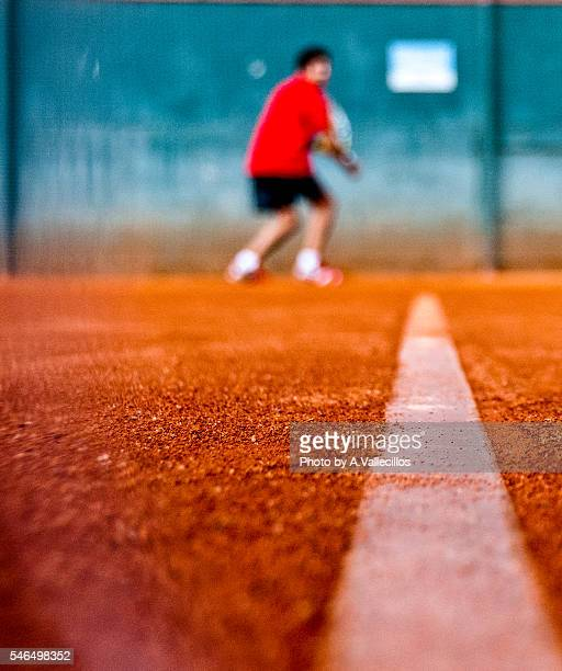 Tennis Clay Court bottom view
