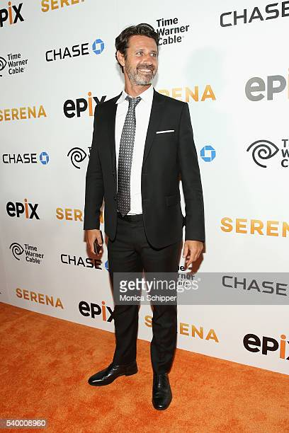 Tennis coach Patrick Mouratoglou attends the EPIX New York Premiere of 'Serena' on June 13 2016 in New York City
