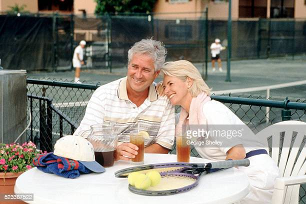 Tennis couple