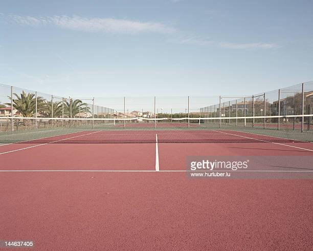 tennis court - tennis photos et images de collection