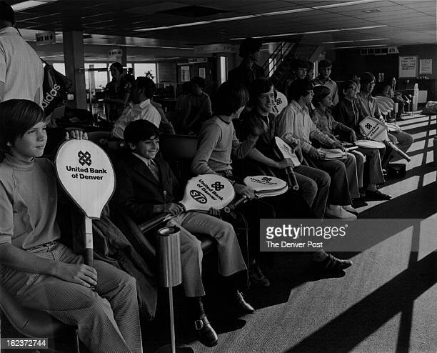 AUG 30 1972 Tennis Denver Champions Head for Nation's Capital for National Net Meet Waiting for Their Flight to leave for Washington DC are members...