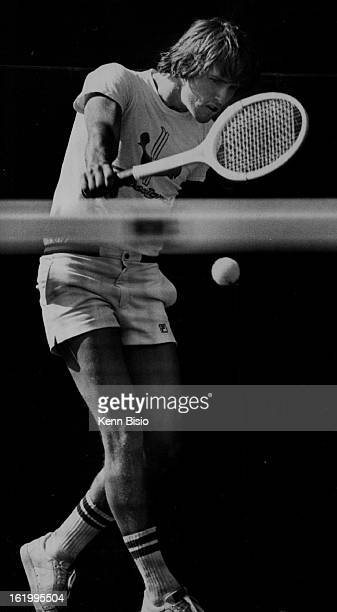 JUL 1 1977 JUL 2 1977 Tennis Denver city open Moore Huffman One Upset in the Making Moore Huffman surprises Ken Curry Friday in Second round of Denver