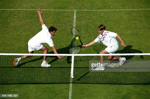 tennis doubles - doubles stock photos and pictures