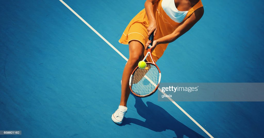 Tennis game. : Stock Photo