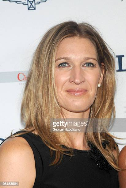 Tennis great Steffi Graf attends the Women Who Make a Difference Awards hosted by Longines and Town Country at Hearst Tower on September 9 2009 in...