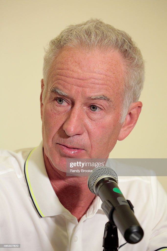 Johnny Mac Tennis Project 2015 Benefit Matches : Nachrichtenfoto