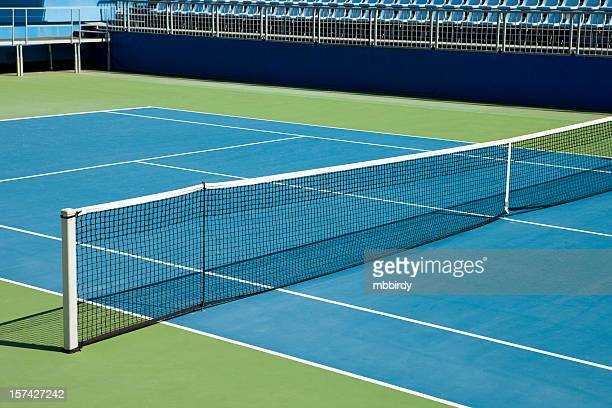 tennis hard court - hardcourt stock pictures, royalty-free photos & images
