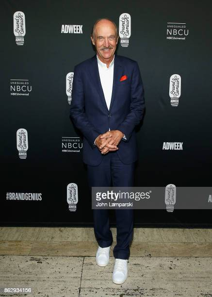 Tennis icon Stan Smith attends 28th Annual Adweek Brand Genius Gala at Cipriani 25 Broadway on October 18 2017 in New York City