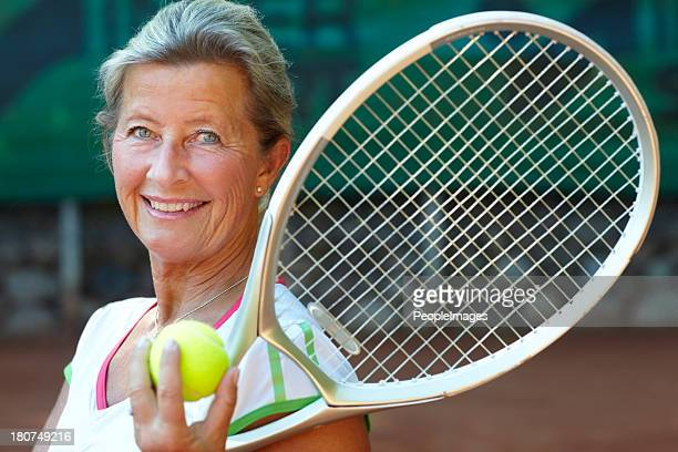 Tennis is her game