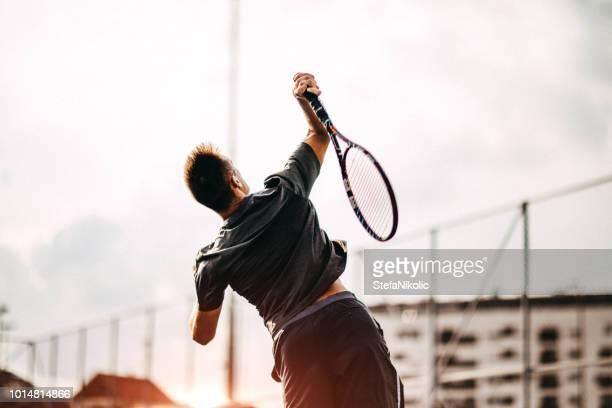 tennis ist mein lieblingssport - tennis stock-fotos und bilder