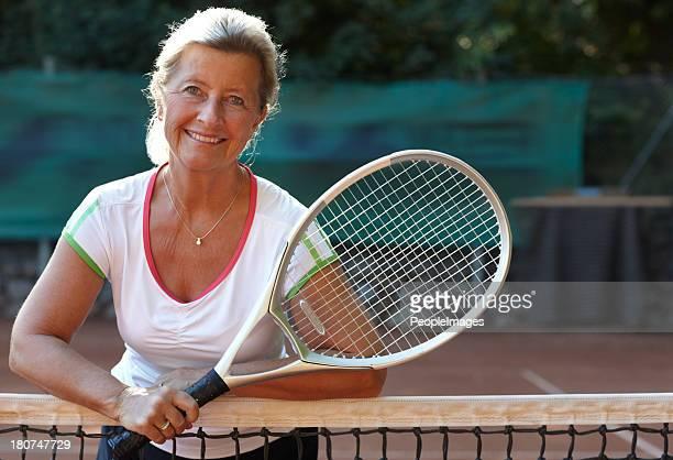 Tennis keeps me feeling great!