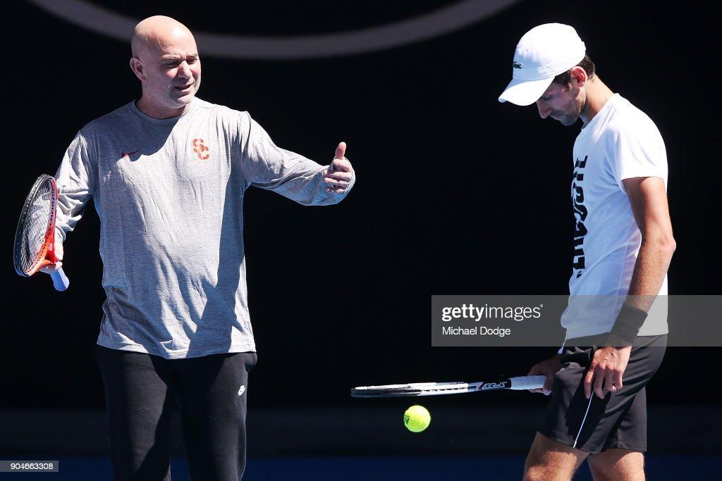 2018 Australian Open - Previews : Nachrichtenfoto