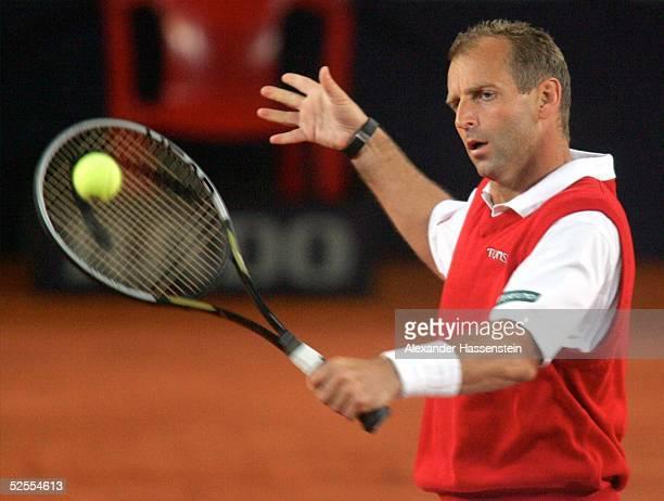 Tennis Masters 2004 Hamburg Davis Cup Revanche Deutschland gegen Oesterreich Thomas MUSTER / AUT 060504