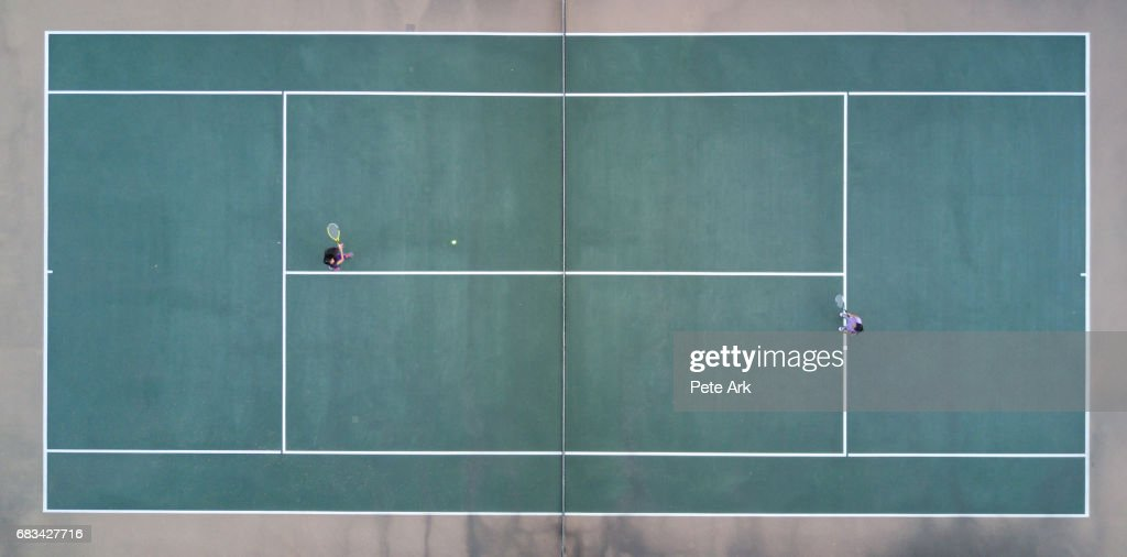 Tennis Match : Photo