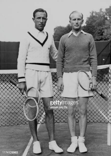 Tennis Meisterschaft 1941: Sieger Pfaff, Finalist Spitzer