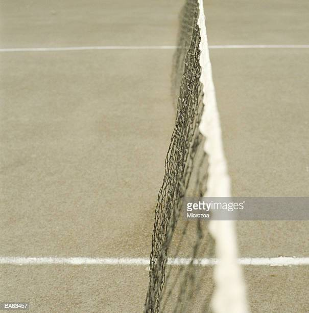tennis net, close-up - microzoa stock pictures, royalty-free photos & images
