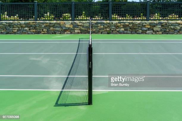 tennis net - netting stock pictures, royalty-free photos & images