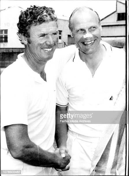 NSW Tennis Open Lennart Bergelin Swedish Tennis Assoc Coach January 05 1974