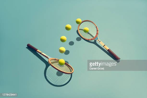 tennis - still life stock pictures, royalty-free photos & images