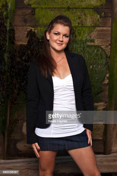 Tennis player Agnieszka Radwanska is photographed in Brighton England