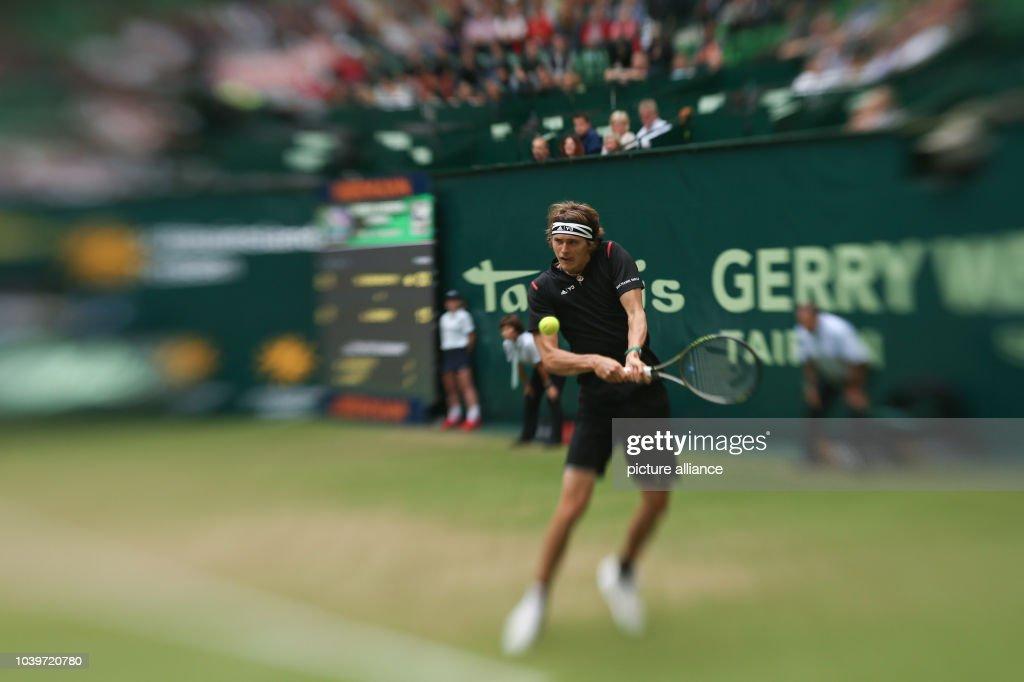 ATP-Tournament in Halle : Fotografía de noticias