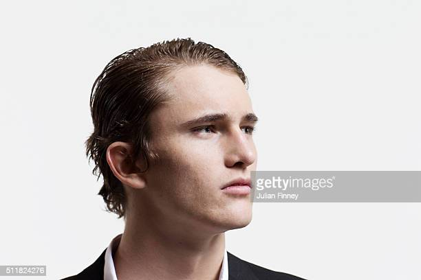 Tennis player Alexander Zverev is photographed at Stoke Park on November 24 2015 in Stoke Poges England