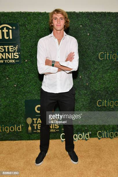 Tennis player Alexander Zverev Jr attends the Citi VIP Lounge at Taste Of Tennis at W New York on August 24 2017 in New York City