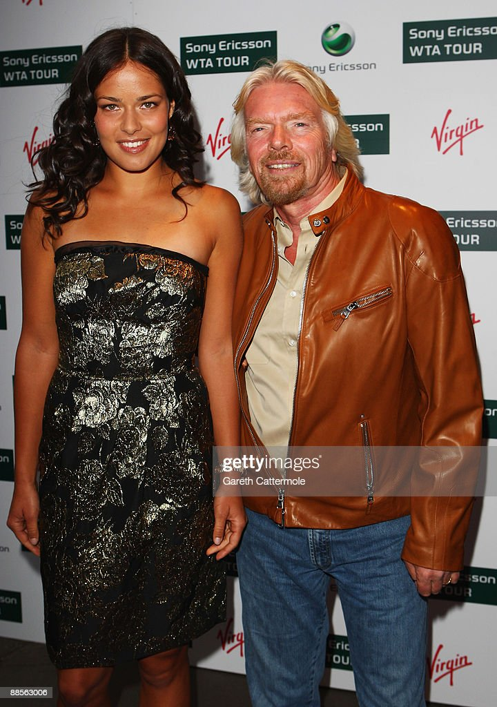 Image result for richard branson with tennis players