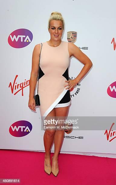 Tennis Player Anastasia Pavlyuchenkova attends the WTA PreWimbledon Party as guests enjoy Ciroc Vodka presented by Dubai Duty Free at Kensington Roof...