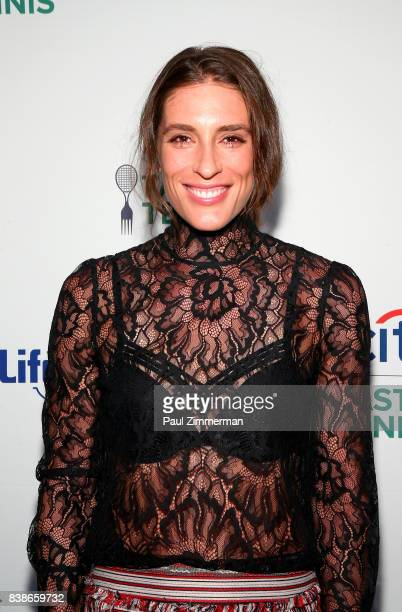 Tennis player Andrea Petkovic attends Citi Taste Of Tennis at W New York on August 24 2017 in New York City
