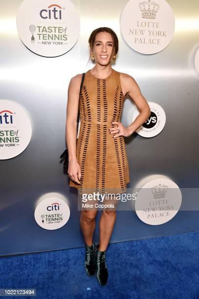 Tennis player Andrea Petkovic attends the Citi Taste Of Tennis gala on August 23 2018 in New York City