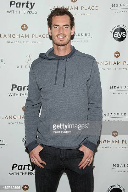 Tennis player Andy Murray attends Party with the Pros during Taste Of Tennis Week at Langham Place on August 29 2015 in New York City