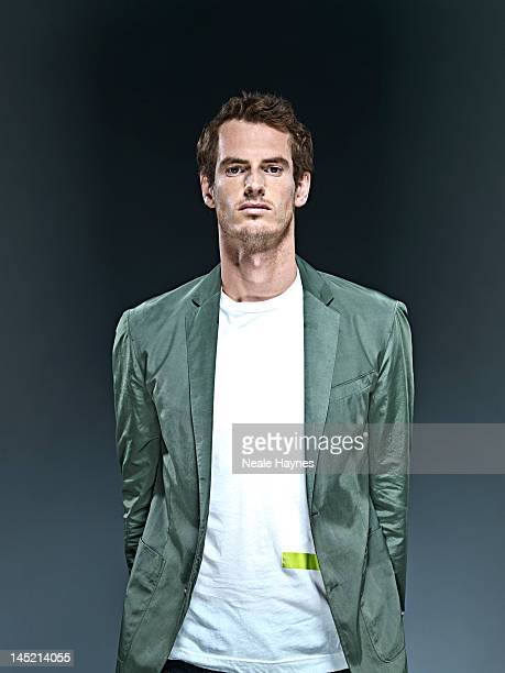 Tennis player Andy Murray is photographed for Live magazine on April 10, 2012 in London, England.