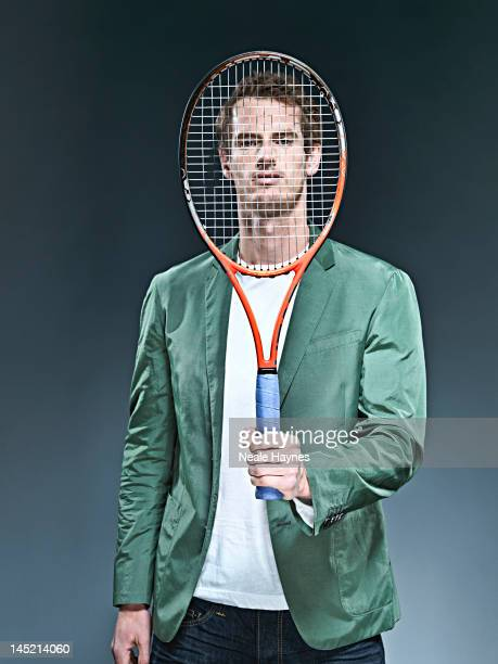 Tennis player Andy Murray is photographed for Live magazine on April 10 2012 in London England