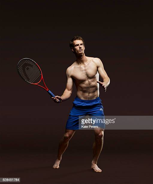 Tennis player Andy Murray is photographed for the Guardian on July 19 2010 in London England
