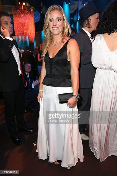 Tennis player Angelique Kerber during the Bambi Awards 2016 party at Atrium Tower on November 17 2016 in Berlin Germany