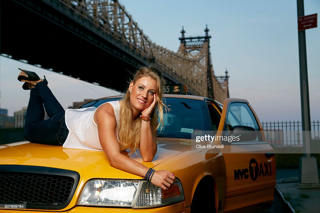Angelique Kerber, Self assignment, August 10, 2012 : News Photo