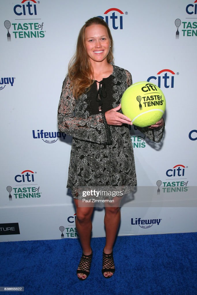 Tennis player Ashley Weinhold attends Citi Taste Of Tennis at W New York on August 24, 2017 in New York City.