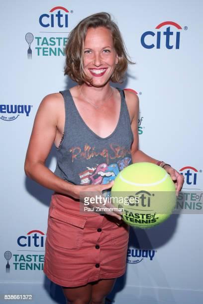 Tennis player Barbora Strýcováattends Citi Taste Of Tennis at W New York on August 24 2017 in New York City