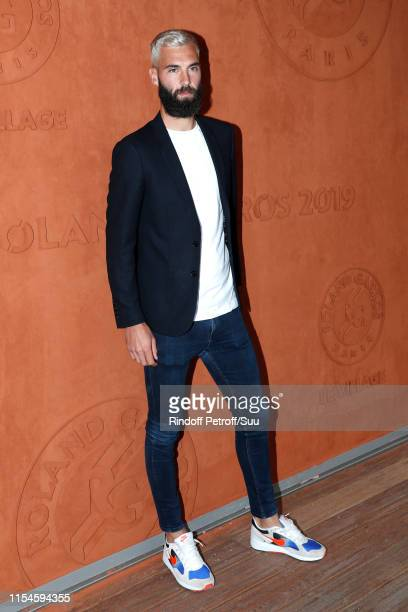 Tennis Player Benoit Paire attends the 2019 French Tennis Open - Day Fourteen at Roland Garros on June 08, 2019 in Paris, France.