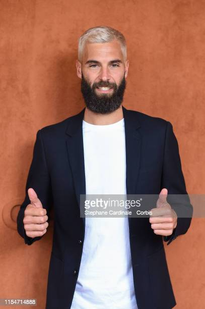 Tennis Player Benoit Paire attends the 2019 French Tennis Open Day Fourteen at Roland Garros on June 08 2019 in Paris France